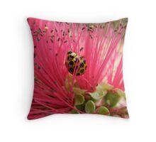 Ladybug Throw Pillow