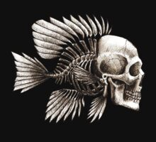 Skull Fish by beanarts
