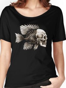 Skull Fish Women's Relaxed Fit T-Shirt