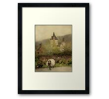 The Old Village Framed Print
