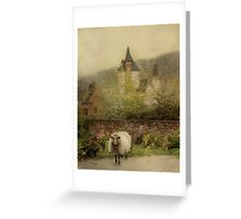 The Old Village Greeting Card