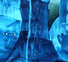 blue souls Sticker