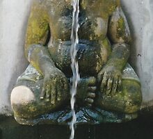 Java Fountain Old Wise Woman  by 082010