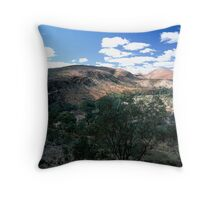 East to Alice Throw Pillow