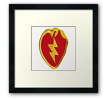25th Infantry Framed Print