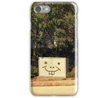 Spongebob container | urban photography iPhone Case/Skin