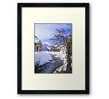 Val d'Isere Framed Print