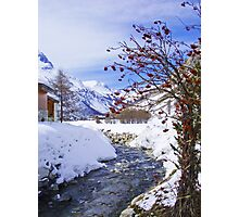 Val d'Isere Photographic Print