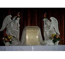 """""""The Body of Christ"""" and His Angels... Photographic Print"""