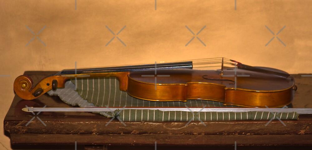 Silent Violin by CarolM