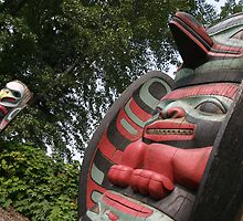 North West America Totem Poles by ChauTW