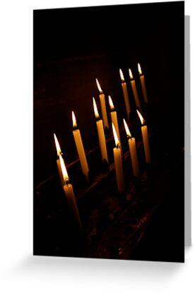 Cathedral Candles by AriseShine