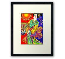 'Kabuki' Framed Print