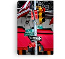Cartier in New York Canvas Print