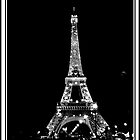 Eiffel Tower At Night by raychL