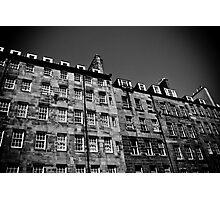 Royal Mile Flats Photographic Print