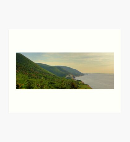 Cabot Trail to Ingonish to Cheticamp Art Print