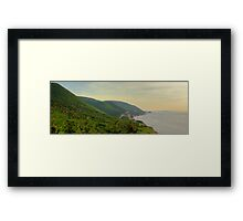 Cabot Trail to Ingonish to Cheticamp Framed Print