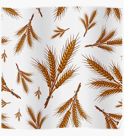 Veggiephile - Wheat Poster