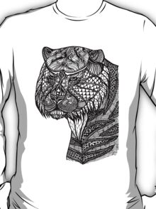 Tiger Aztec Style  T-Shirt