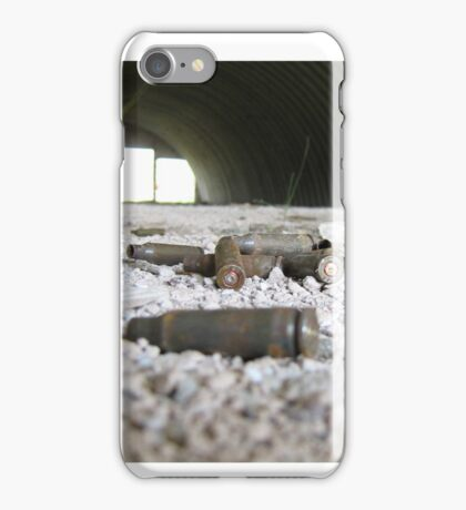 liner in the hangar iPhone Case/Skin