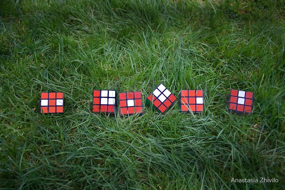 """Love is like a Rubik's Cube... by Anastasia Zhivilo"