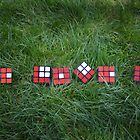 """Love is like a Rubik's Cube... by Anastasia Zhivilo"
