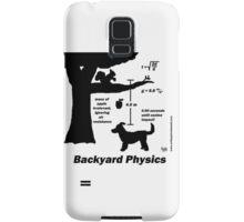 Backyard Physics Samsung Galaxy Case/Skin