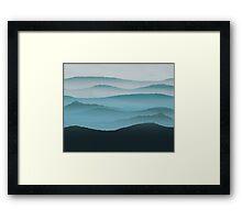 Hills Framed Print