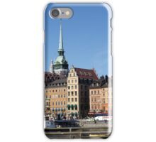 Water, Sky and Houses iPhone Case/Skin