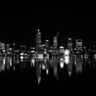Perth city  by night  by chrisblackwell29