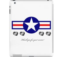 U.S. Military...Thank You for your Service! iPad Case/Skin