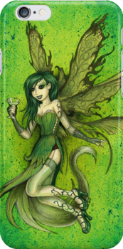Green Fairy by beanarts
