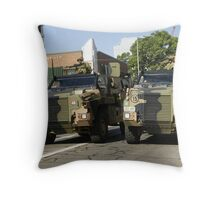 Bushmaster Infantry Mobility Vehicle, Australia Throw Pillow