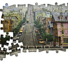 Steep Hill - Jigsaw by photoshotgun