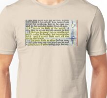 YE ARE THE LIGHT OF THE WORLD Unisex T-Shirt