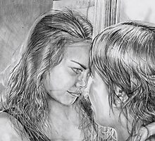 Reflection by redmaidenart