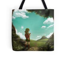 The Legend of Zelda: Ocarina of Time - The Outset of a Journey Tote Bag