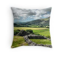 Castell y Bere  Throw Pillow