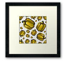 Veggiephile - Capsicum Framed Print