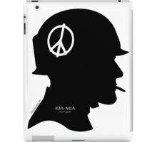 POW-MIA: 2200 still SLEEP on the Dark Side of this World! iPad Case/Skin