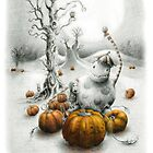 Pumpkin Eater and Friends by louprentice