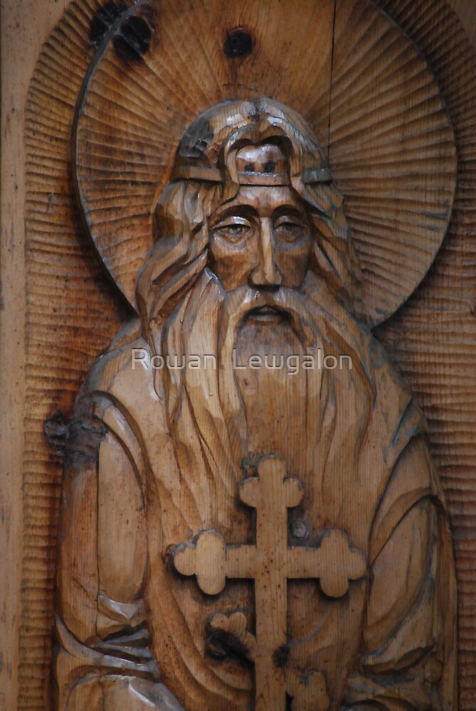 Unknown Saint by Rowan  Lewgalon