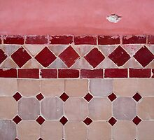 Red Tiles by Melanie PATRICK