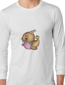 Wally Walrus Long Sleeve T-Shirt