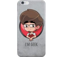 i'm geek iPhone Case/Skin