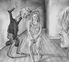 Hysterics by redmaidenart