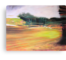 passing tugan (abstract impression of a service station) Canvas Print