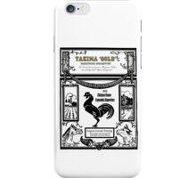YAKIMA GOLD Cannabis Cigarettes...chicken flavored! iPhone Case/Skin