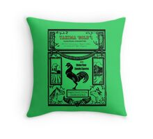 YAKIMA GOLD Cannabis Cigarettes...chicken flavored! Throw Pillow